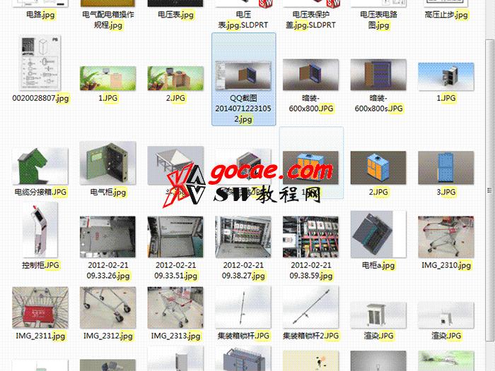 590套钣金图纸威图柜图纸GGD控制柜网络机柜图纸环网柜KYN28图纸 solidworks钣金图纸合集